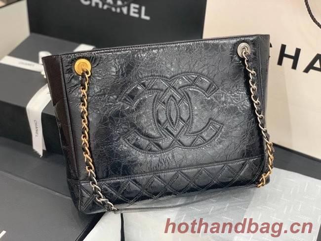 Chanel shopping bag AS1875 black