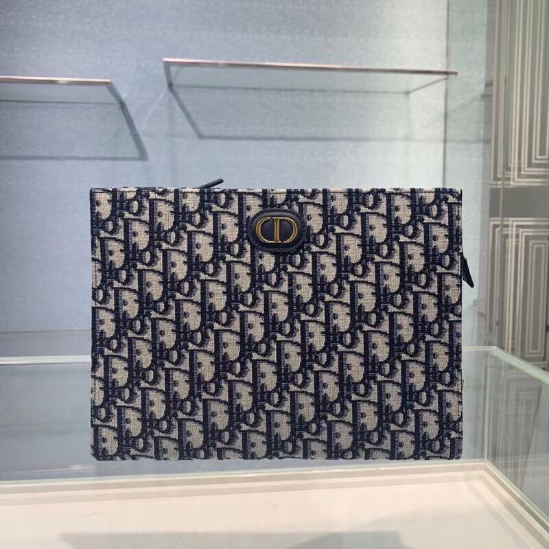 DIOR Oblique Embroidered C2107 blue