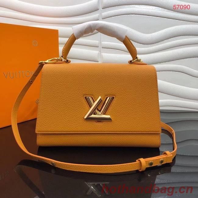 Louis vuitton TWIST ONE HANDLE MM M57090 yellow