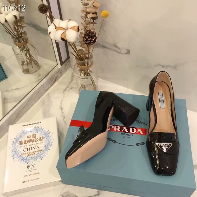 Prada shoes PD981YY-2 Heel height 7CM