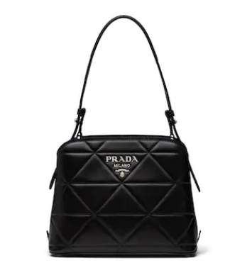 Prada Spectrum small leather bag 1BA311 black