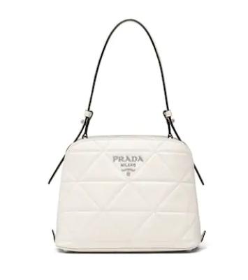 Prada Spectrum small leather bag 1BA311 white