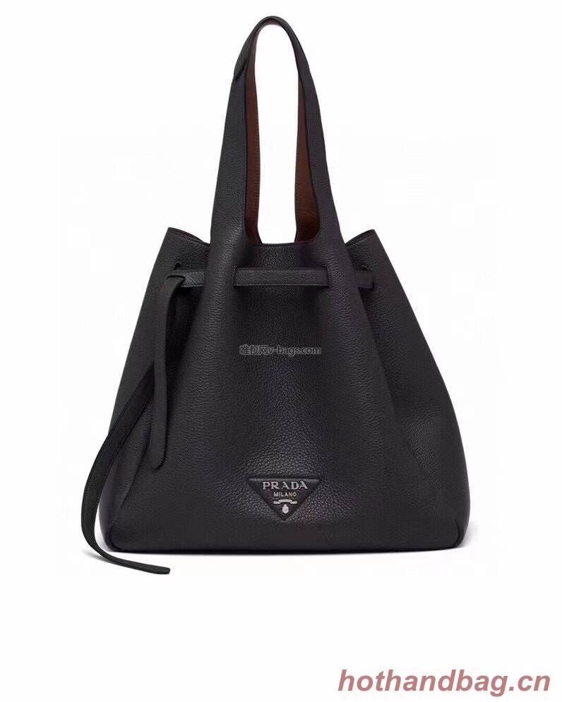 Prada Deer skin bag shoulder bag 1BG339 black