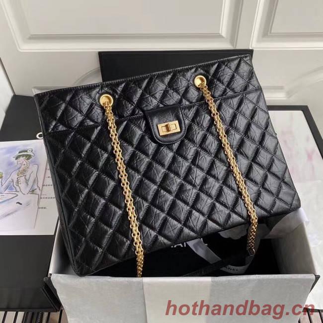 Chanel Original Lather Shopping bag AS6611 black