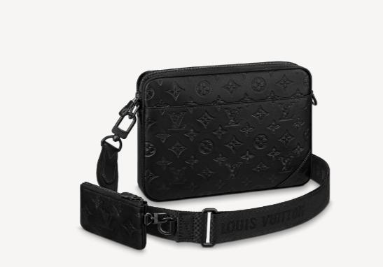 Louis Vuitton DUO MESSENGER M69827 black