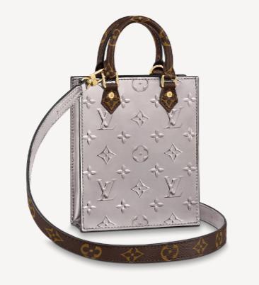 Louis Vuitton PETIT SAC PLAT M90564 grey