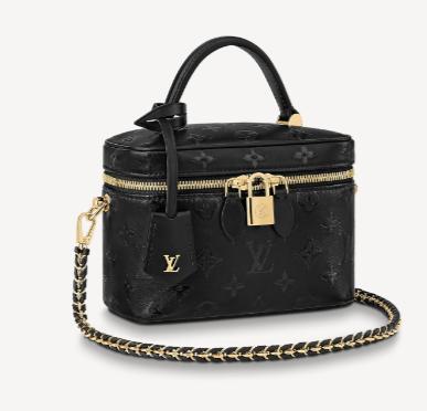 Louis Vuitton VANITY PM M57118 BLACK