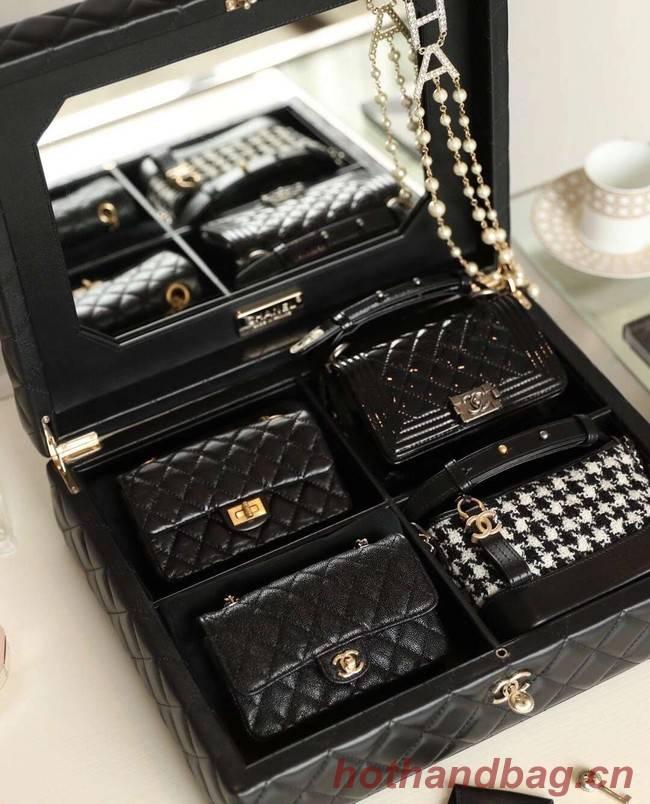 Chanel  Mini five piece set  AS1949 black