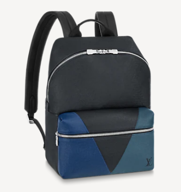 Louis Vuitton DISCOVERY BACKPACK M30735 blue