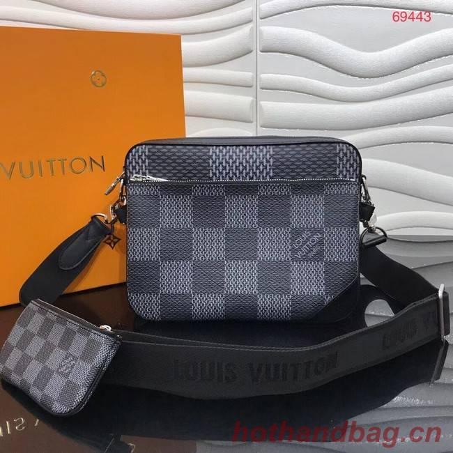 Louis Vuitton MESSENGER M69443 black
