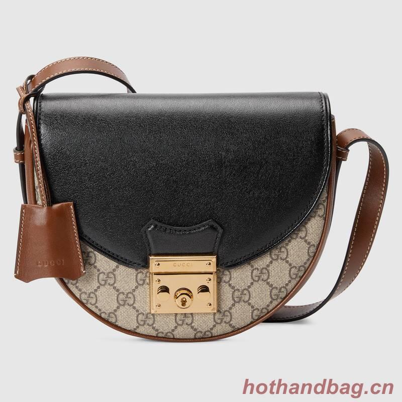Gucci Padlock small shoulder bag 644524 Brown