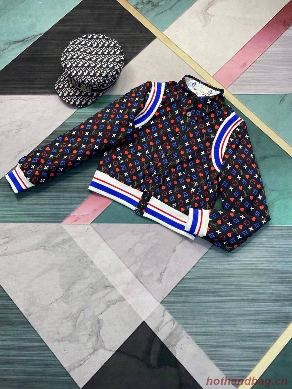 Louis Vuitton Top Quality Jacket LV8745 Black