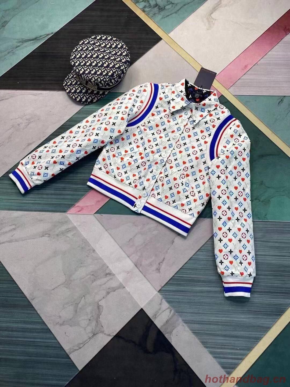 Louis Vuitton Top Quality Jacket LV8745 White