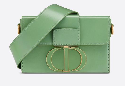 DIOR 30 MONTAIGNE BOX BAG Mint Green Box Calfskin M9204U