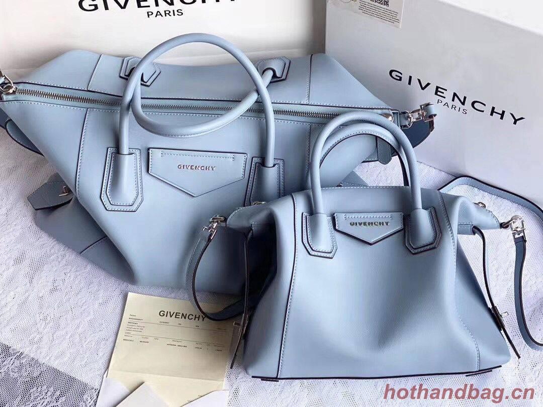 GIVENCHY Original Leather Shoulder Bag 63188 sky Blue