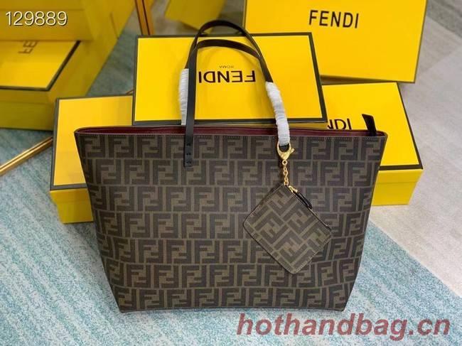 FENDI fabric bag 69555 Burgundy