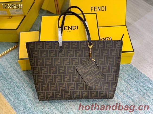 FENDI fabric bag 69555 blue