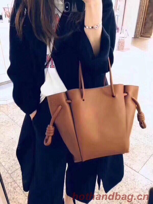 Loewe tote Bags Original Leather 10189 brown