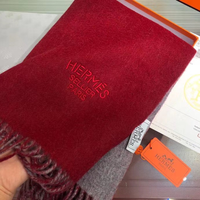 Hermes Cashmere scarf A317526-5