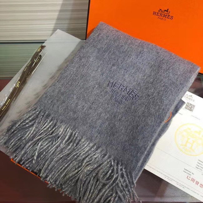 Hermes Cashmere scarf A317526-6