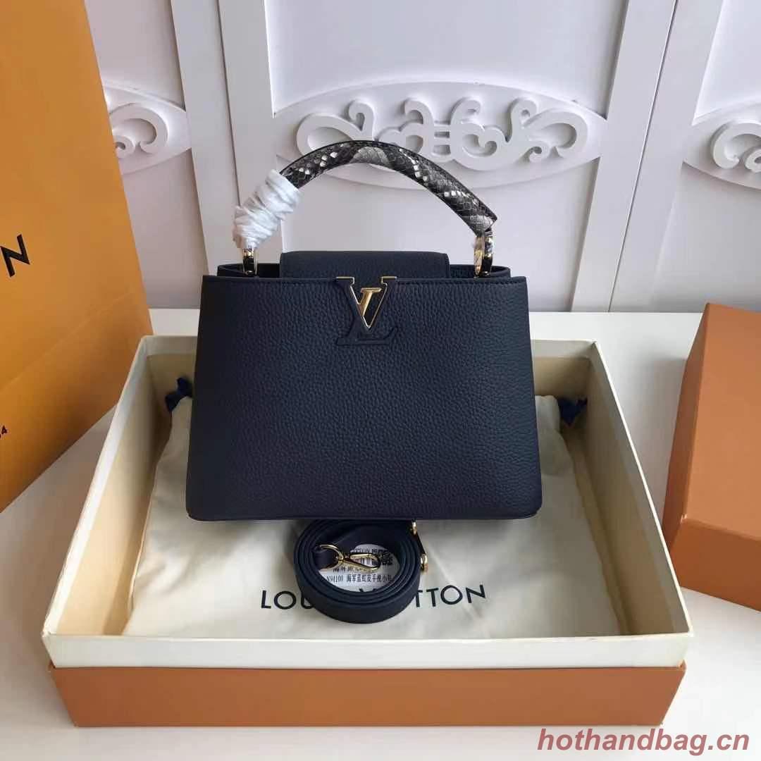 Louis Vuitton CAPUCINES PM M523867 Royal Blue
