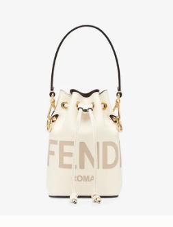 FENDI MON TRESOR beige leather mini-bag 8BS010