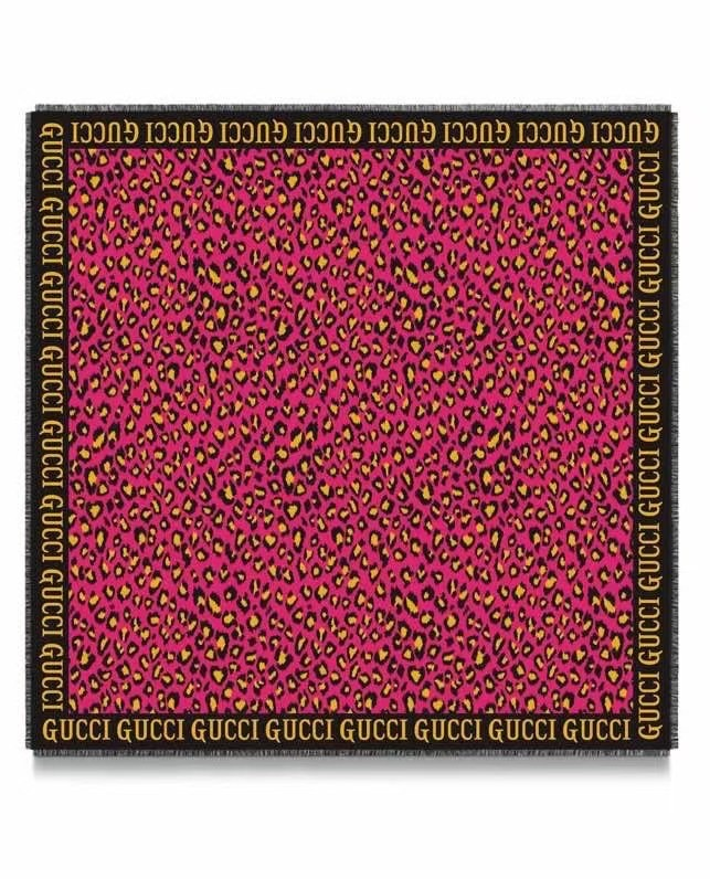 Gucci Cashmere scarf 77036-1