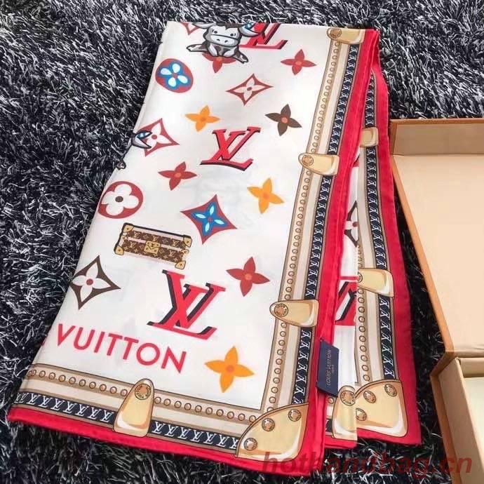 Louis Vuitton silk Scarf 77030-2