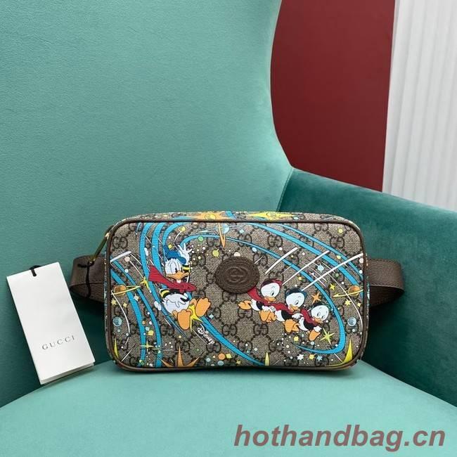 Disney x Gucci Donald Duck print belt bag 602695