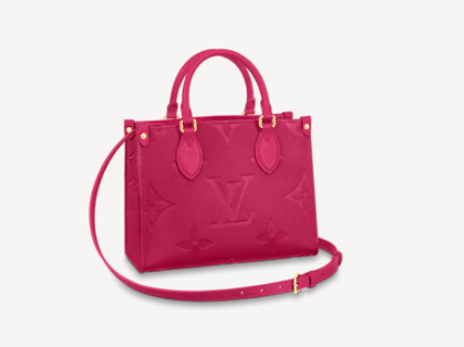 Louis Vuitton ONTHEGO PM - EXCLUSIVELY ONLINE M45660 Freesia Pink