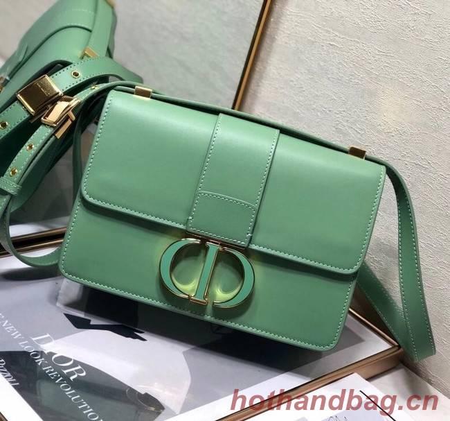 DIOR 30 MONTAIGNE BAG green Box Calfskin M9203UM