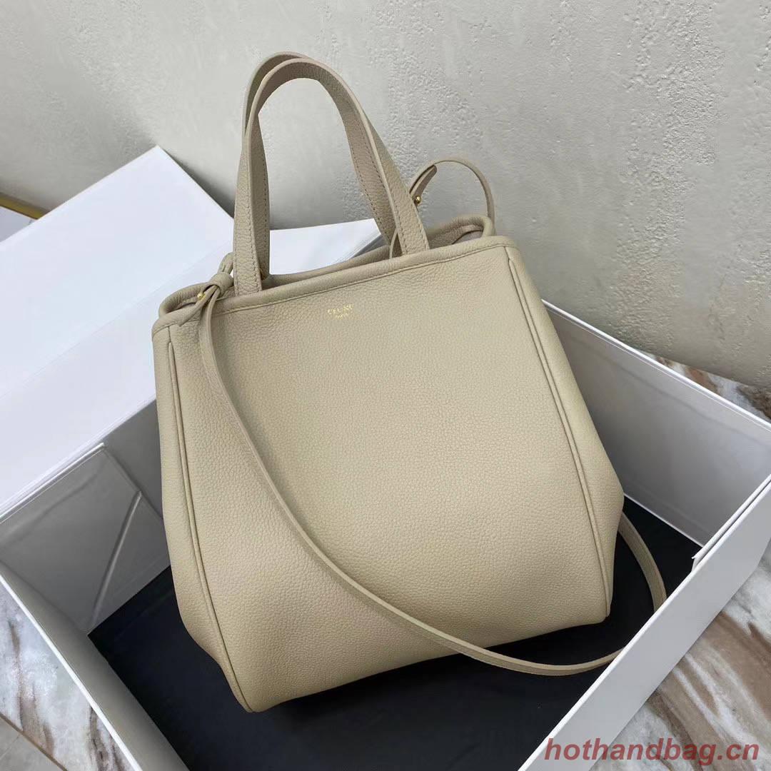 Celine LARGE SOFT BAG IN SUPPLE GRAINED CALFSKIN 55825 Beige