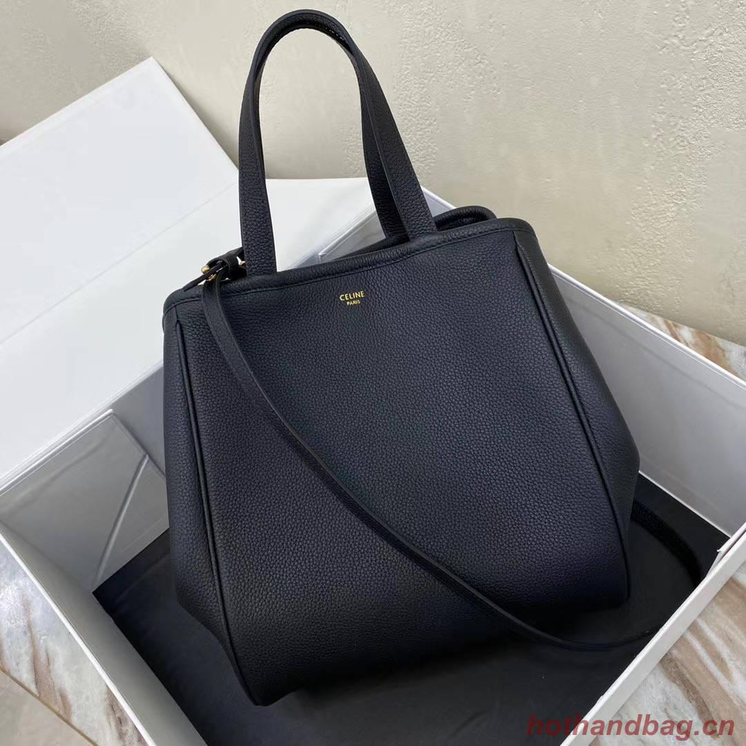 Celine LARGE SOFT BAG IN SUPPLE GRAINED CALFSKIN 55825 black