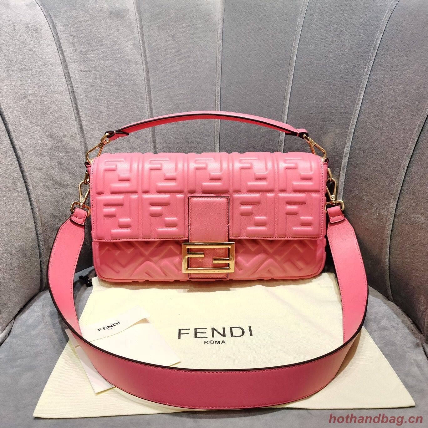 FENDI BAGUETTE  Shoulder Bag 8BS017 rose