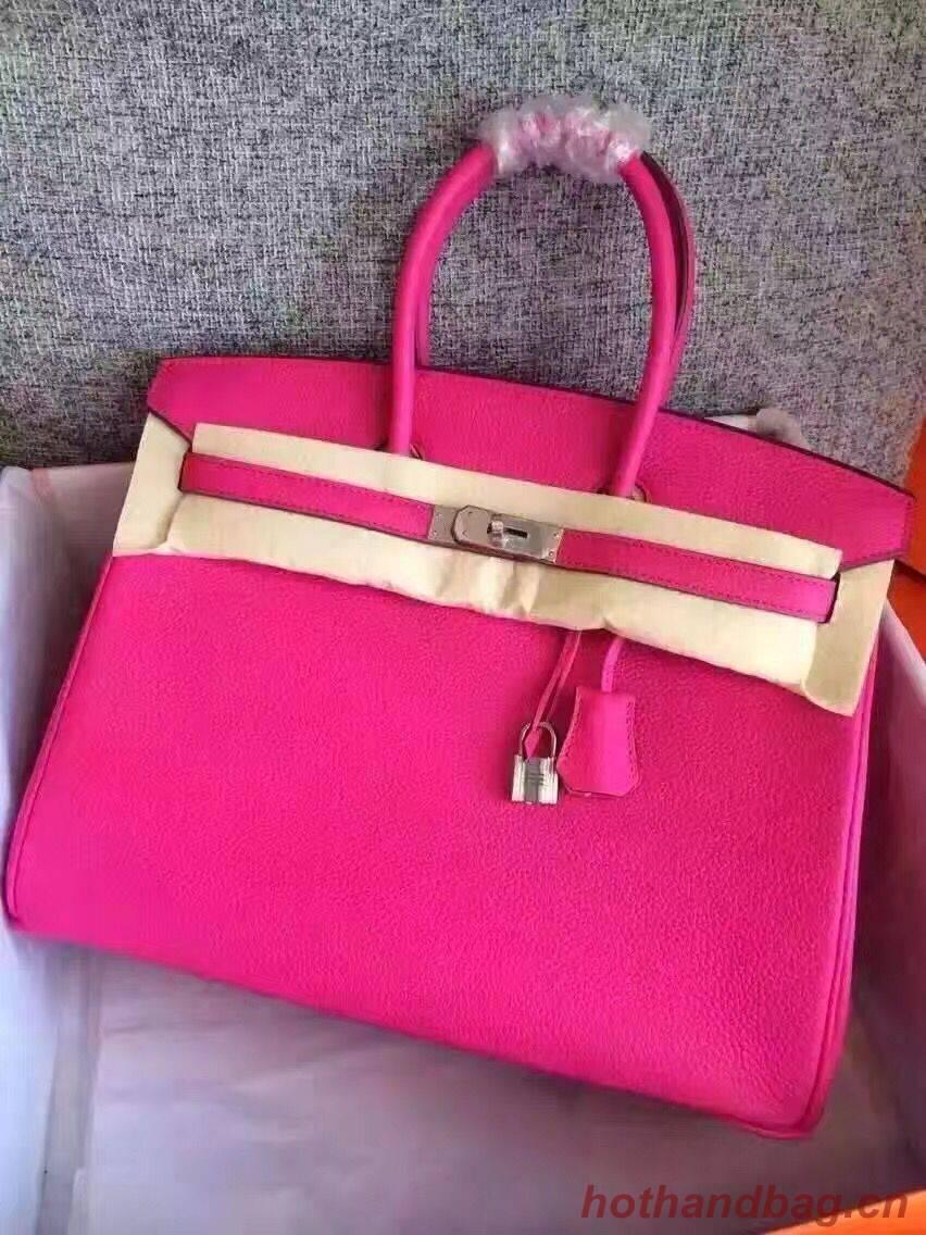 Hermes Birkin Bag Original Togo Leather 17825 Rose