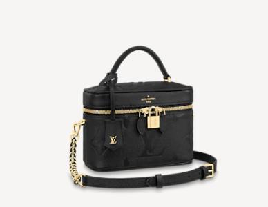 Louis Vuitton Original VANITY PM M45598 black