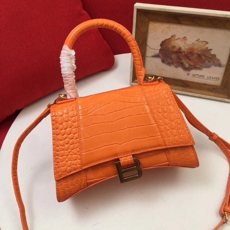 Balenciaga Original Leather 2594 orange