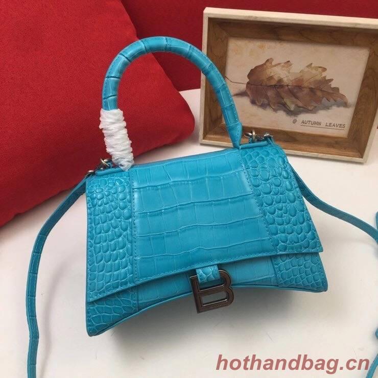 Balenciaga Original Leather 2594 sky blue