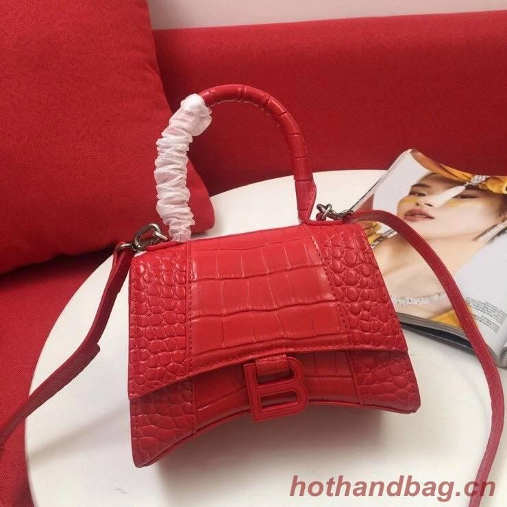 Balenciaga Original Leather 2595 red