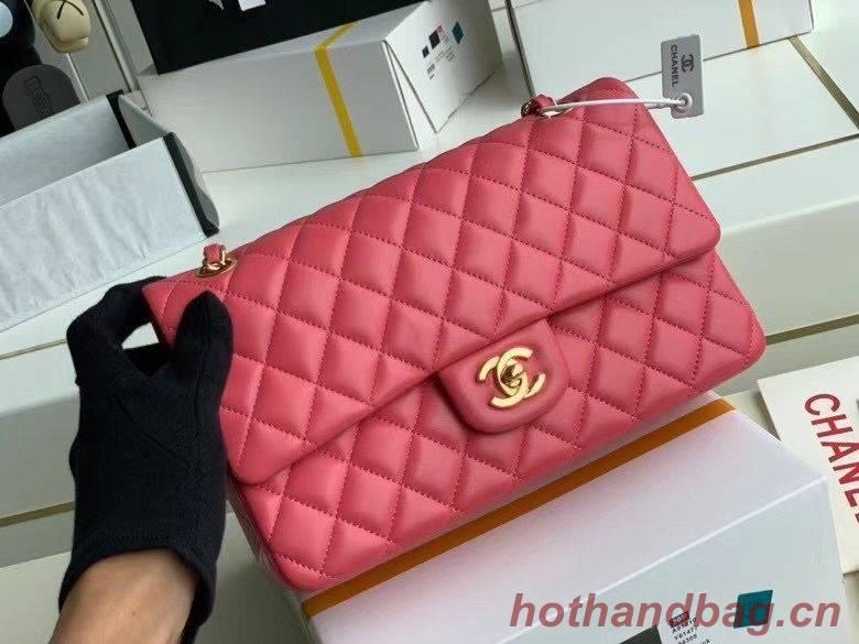 Chanel Flap Shoulder Bag Original Sheepskin leather A1112 pink