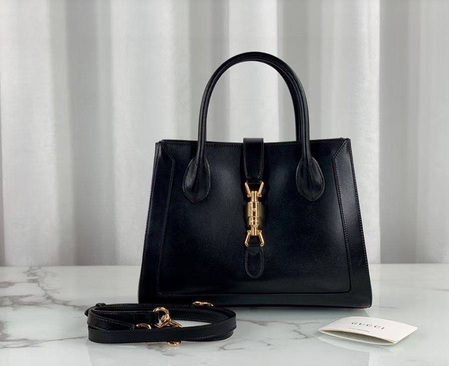 Gucci Jackie 1961 medium tote bag 649016 black