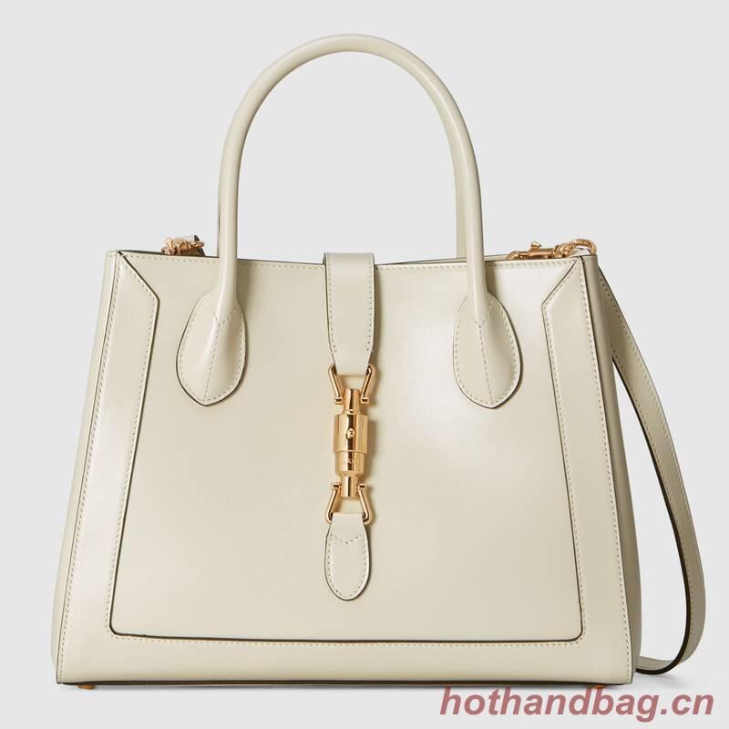 Gucci Jackie 1961 medium tote bag 649016 white