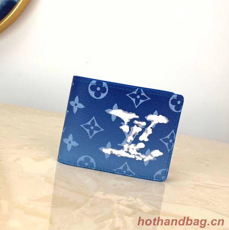 Louis Vuitton Multiple Wallet M60895 Blue