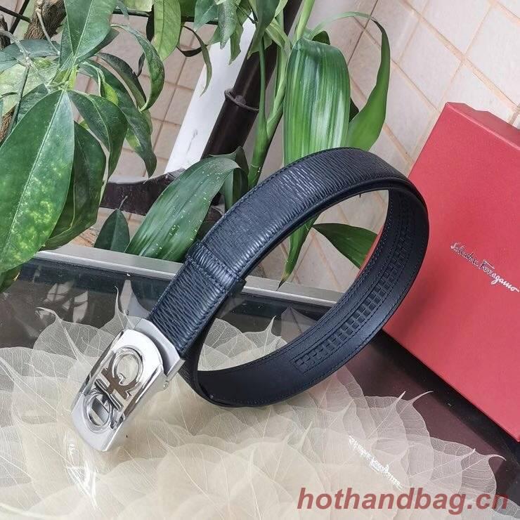 Ferragamo Original Calf Leather 35MM 4990-1