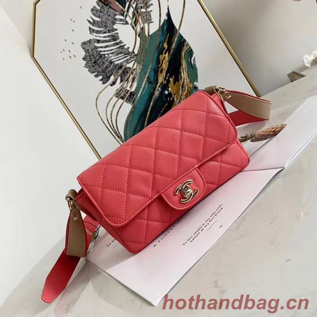 Chanel flap bag AS2273 rose