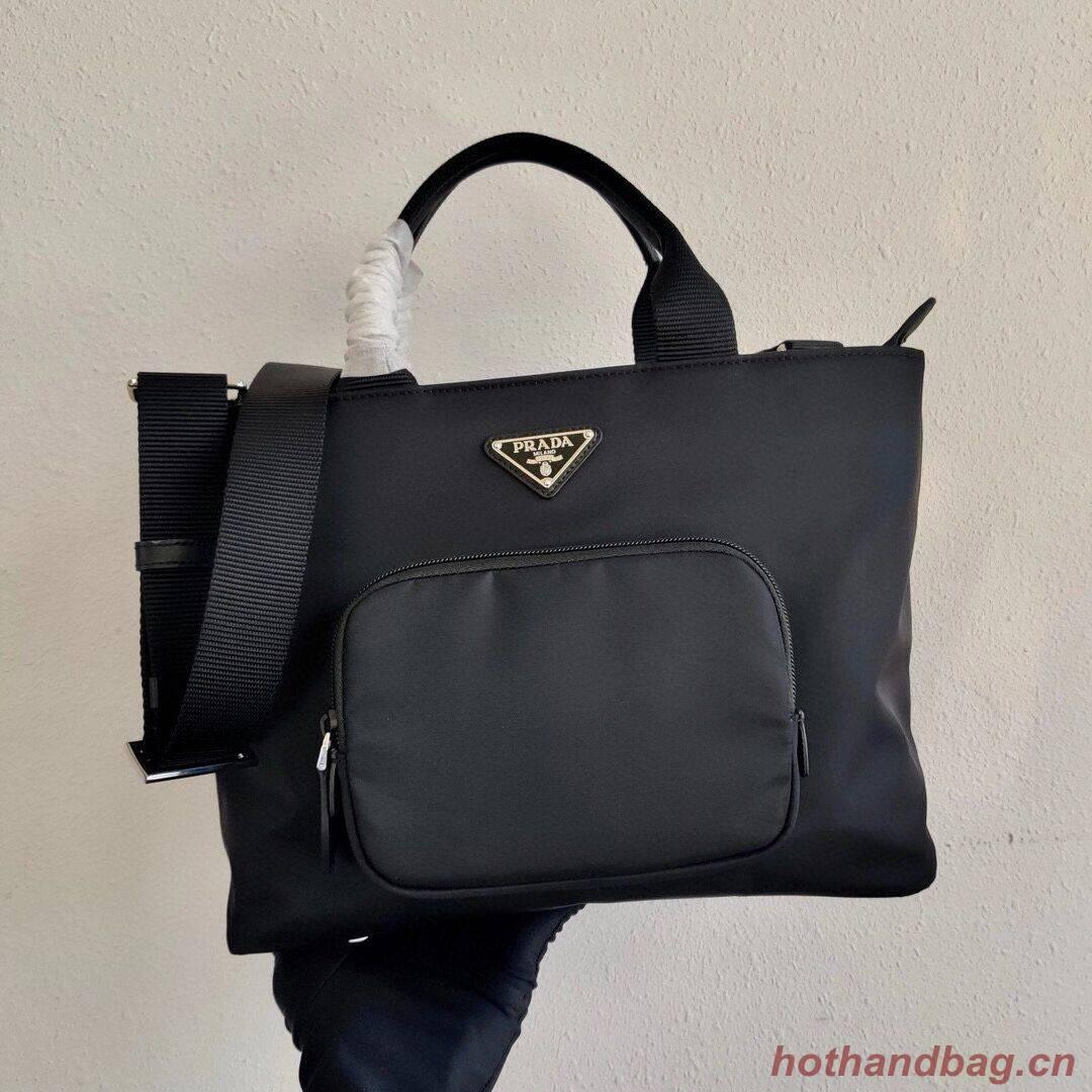 Prada Re-Edition nylon tote bag 1BG354 black