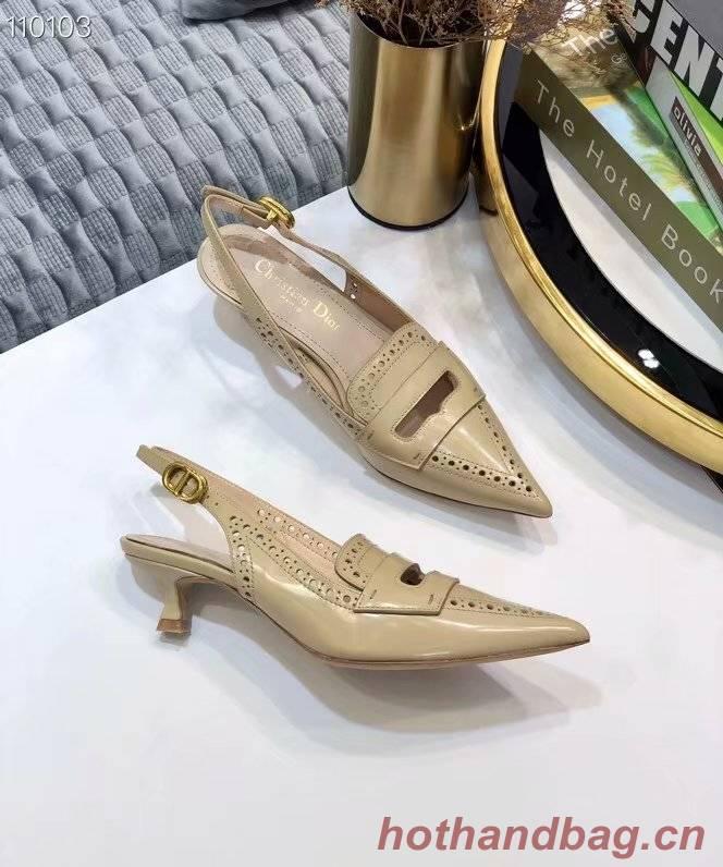 Dior Shoes Dior737DJ-4 Heel height 4CM