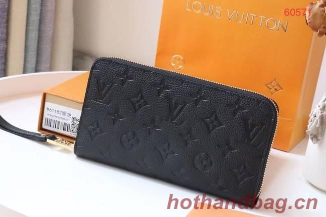 Louis Vuitton Original Monogram Empreinte Wallet M60571 black