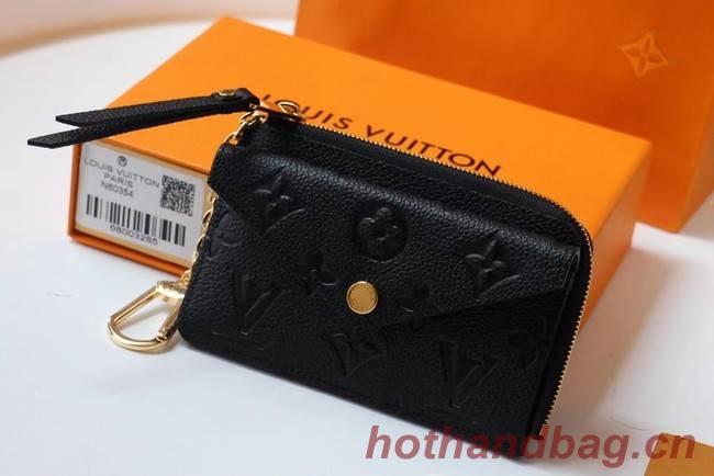 Louis Vuitton Original Monogram Empreinte Wallet M69421 black