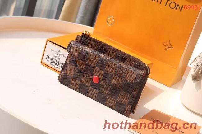 Louis Vuitton Original Wallet M69431 red